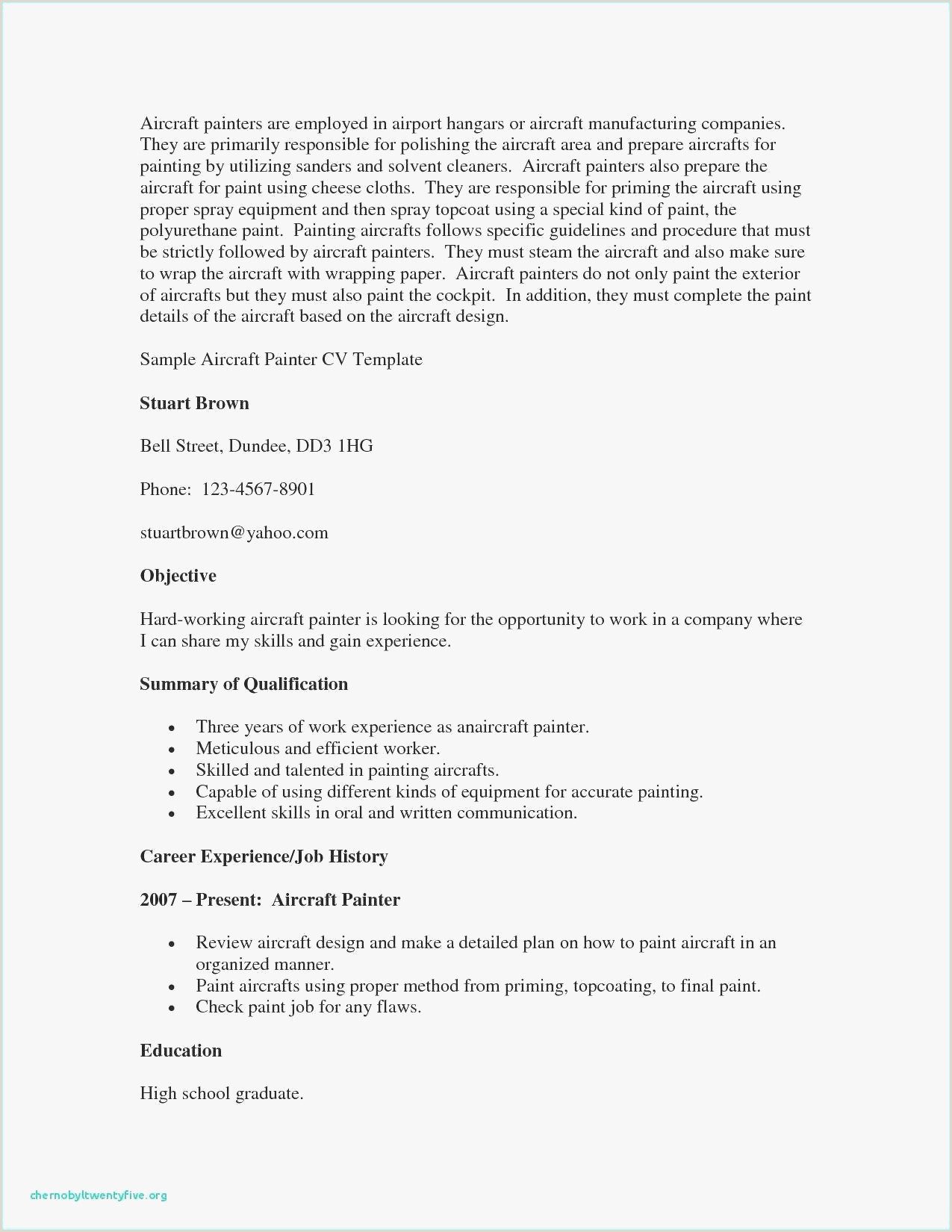 Cv Example For Nanny Job 15 Examples Hard Skills Resume