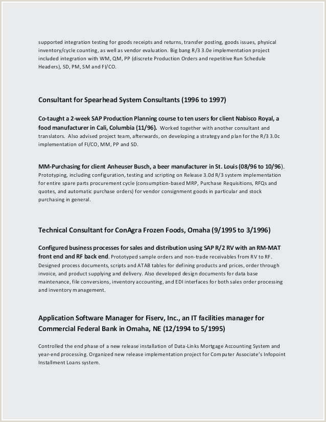 Cv Example For New Job Awesome Resume Marketing Manager