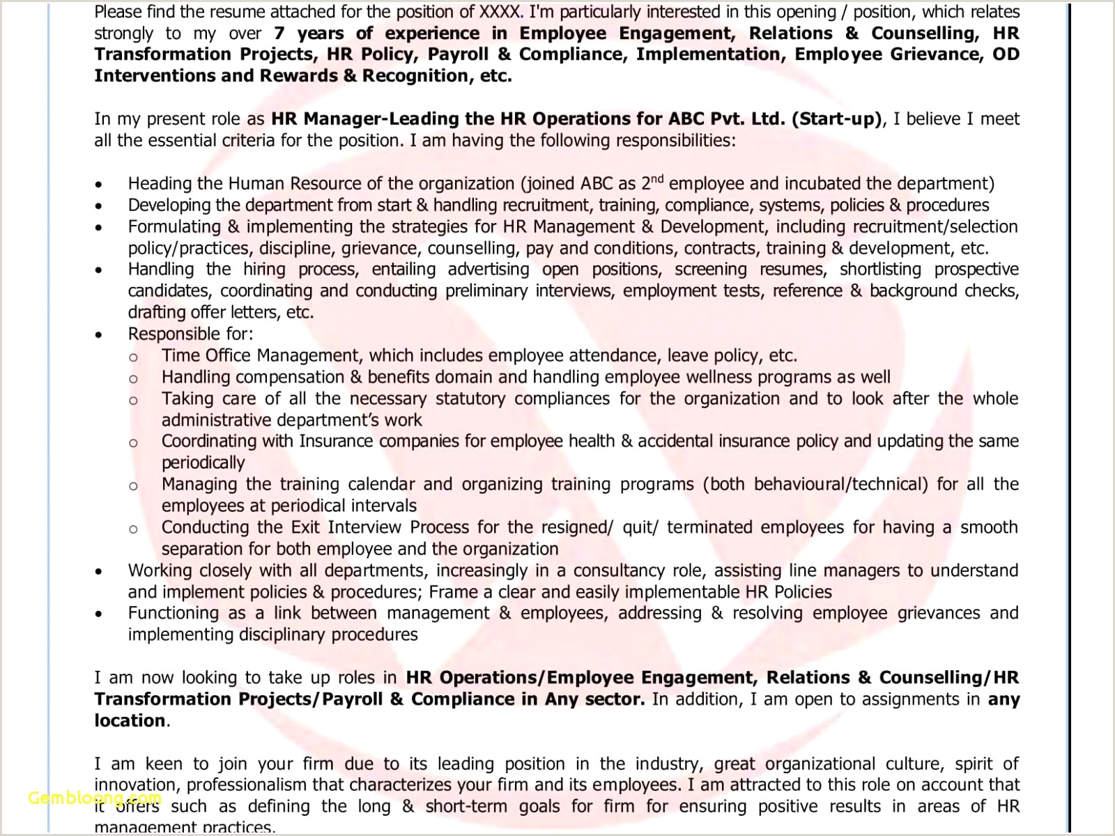 Cv Example for Retail Job Example A Cover Letter for A Job Resume Inspirational Cv