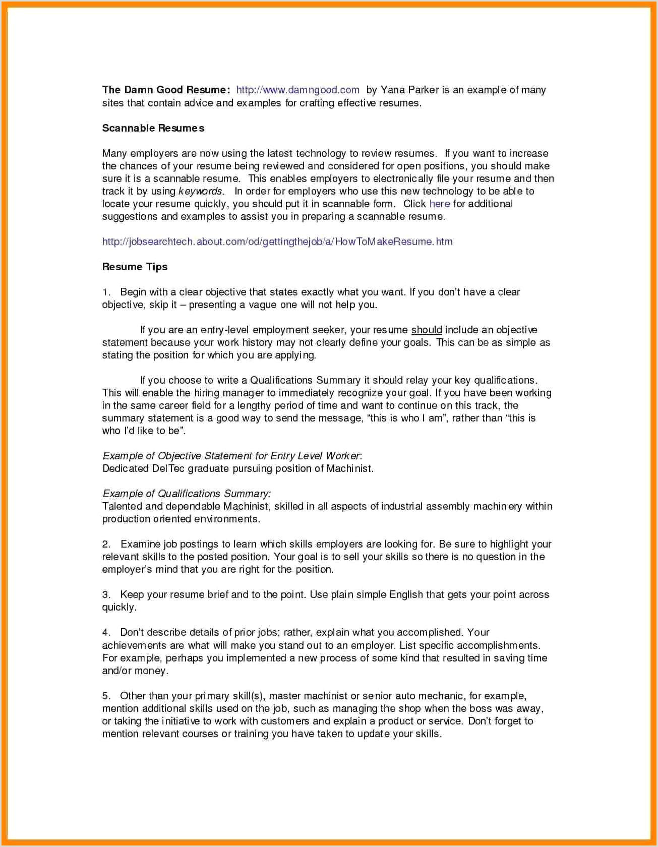 Sample Resume For A Midlevel It Project Manager Monster