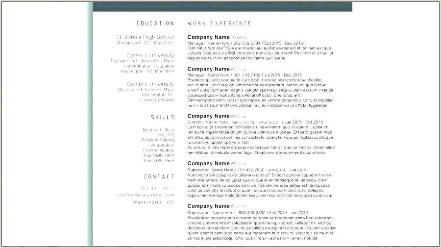 Cv format as A Fresher Curriculum Vitae Template Simple Free Best Layout Unique Pr