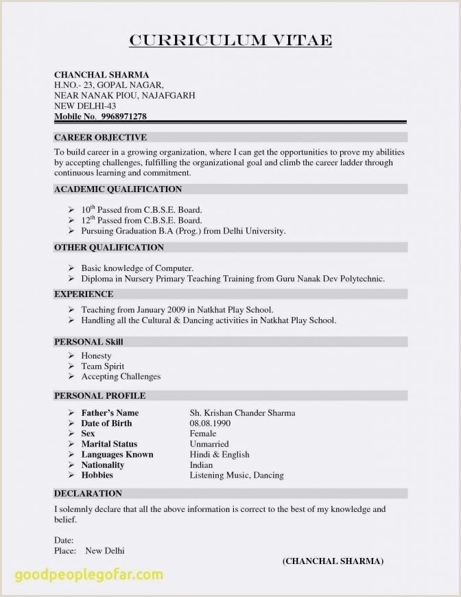 Cv Format For A Fresher Teacher Eudora Pink Resume Template Resumgo Simple Editable