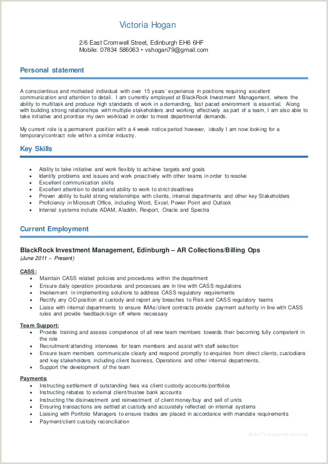 Cv format for Accountant Job In Dubai Victoria Hogan Cv 17 08 15