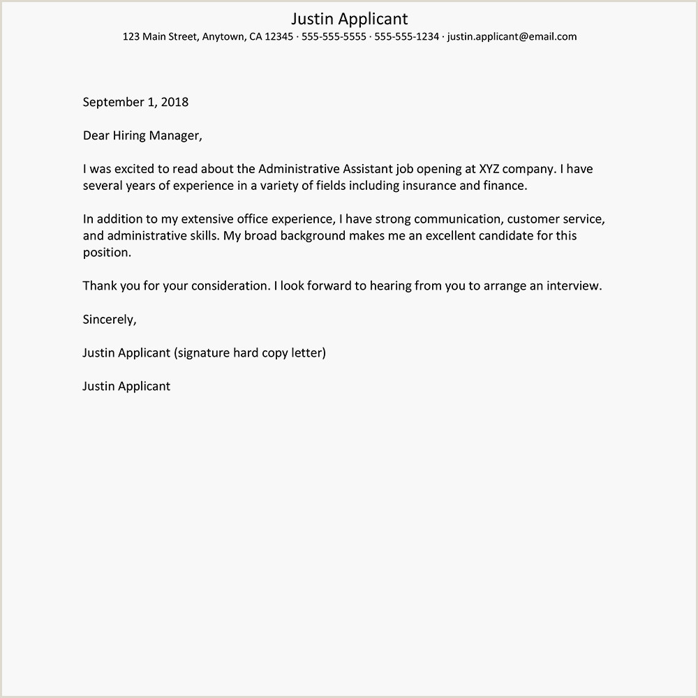 Cv Format For Administration Job Cover Letter Samples For Business And Administration Jobs