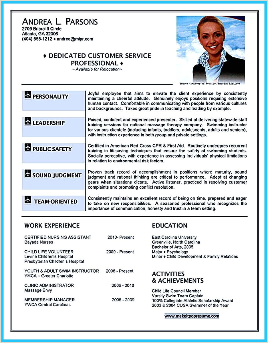 Cv Format For Airlines Job Pin On Resume Template