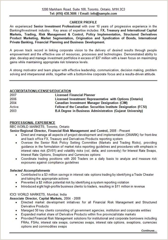 Cv Format For Bank Job Download 47 Best Resume Formats Pdf Doc
