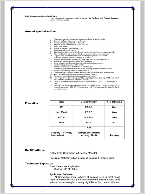 Cv Format For Bank Job In Bangladesh What Is The Difference Between Cv And Resume Quora