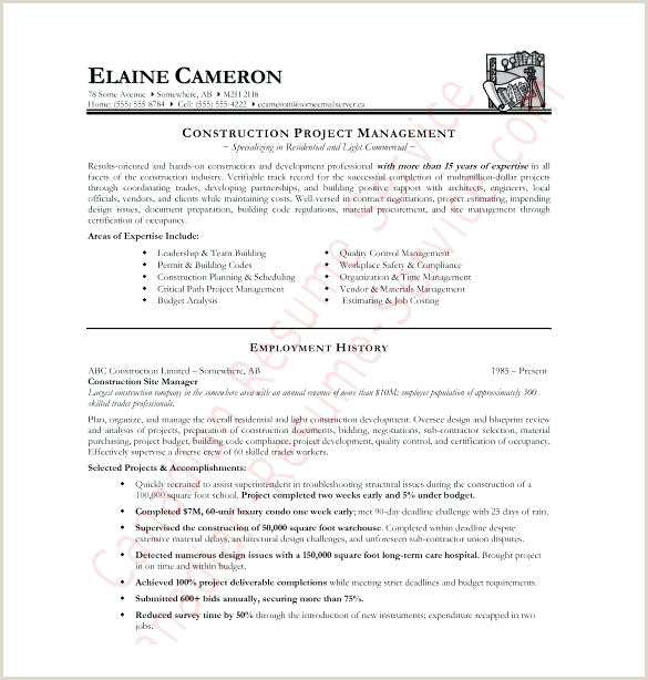 Cv Format For Canadian Job Market Canadian Resume Template Word