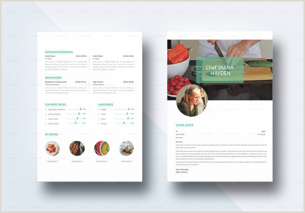Cv Format For Chef Job 14 Chef Resume Templates Word Pdf Google Docs
