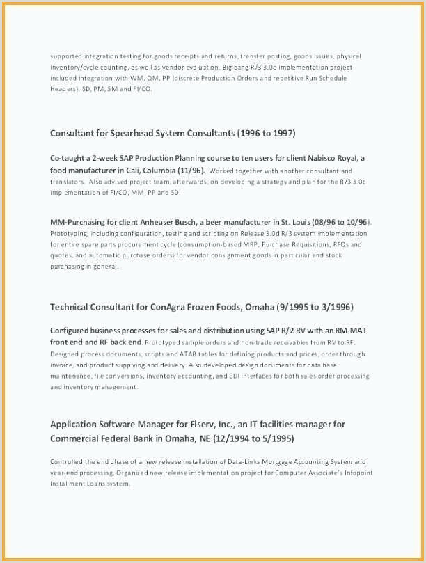 Cv format for Computer Job Cv Factory Collections De Lovely Production Worker Resume