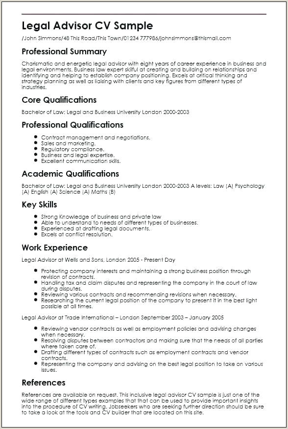 Cv format for Corporate Jobs Cv Writing Template