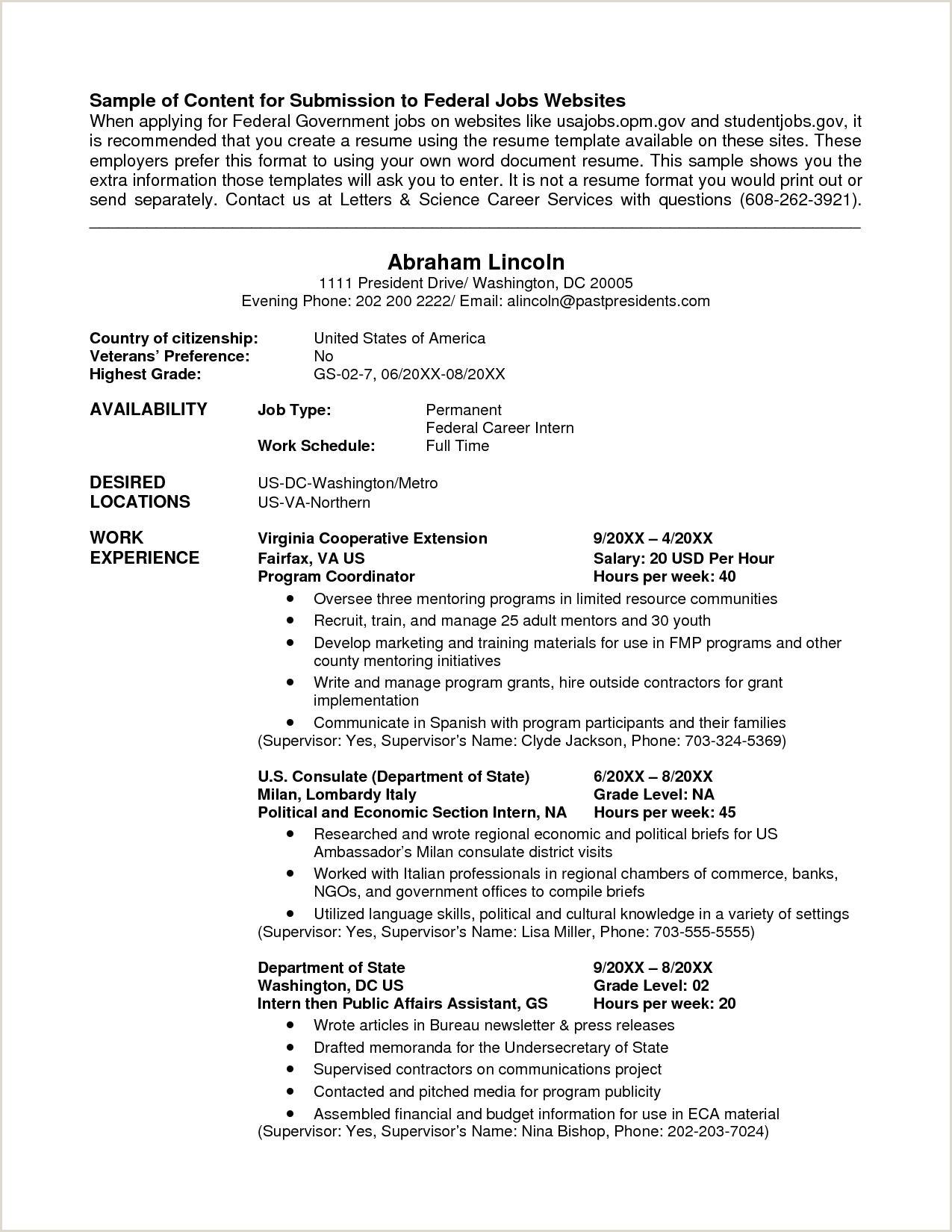 Cv Format For Cruise Jobs 10 Cv Format Example