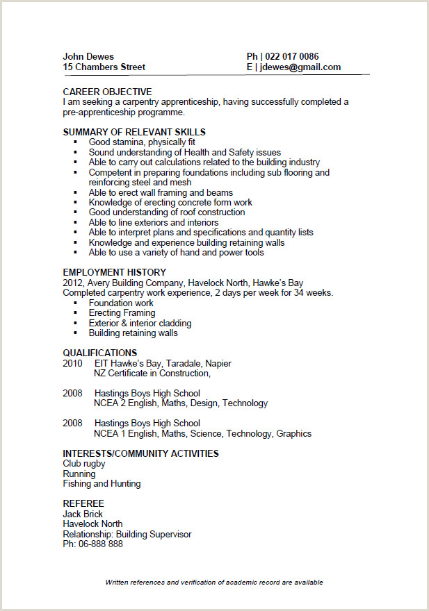 Cv format for Engineering Job Industrial Training Certificate format for Mechanical