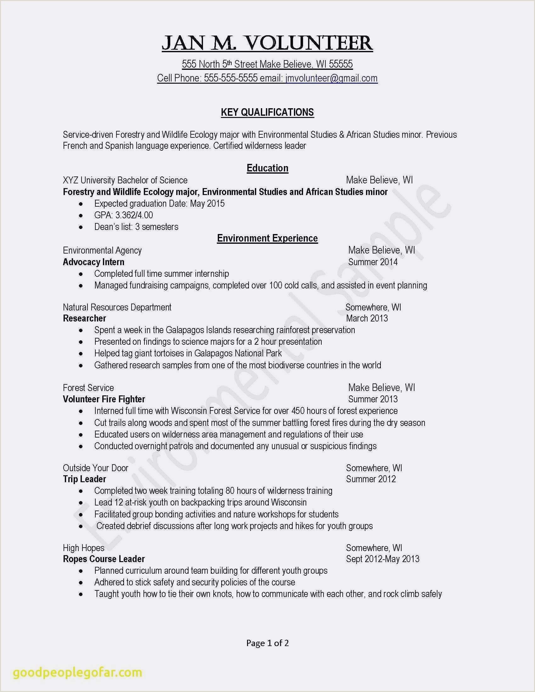 Cv Format For Environmental Jobs Cv Avec Frais Cv 16 Ans Exemple Fresh Examples Resumes