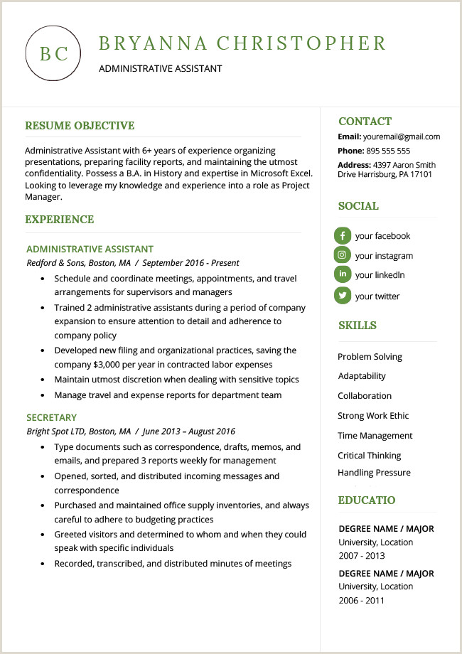 Cv Format For Environmental Jobs How To Write A Career Objective