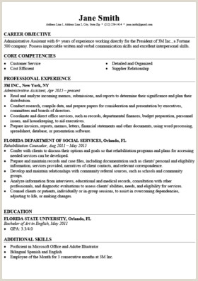 Cv Format For Environmental Jobs Professional Resume Templates Free Download