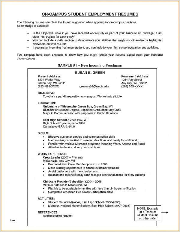 Cv Format For Finance Job Resume For College Template Luxury English Cv Template