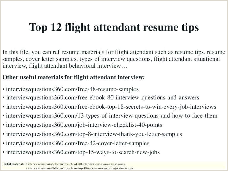 Cv format for Fresher Air Hostess Resume Examples for Flight attendant Corporate Doc Probe