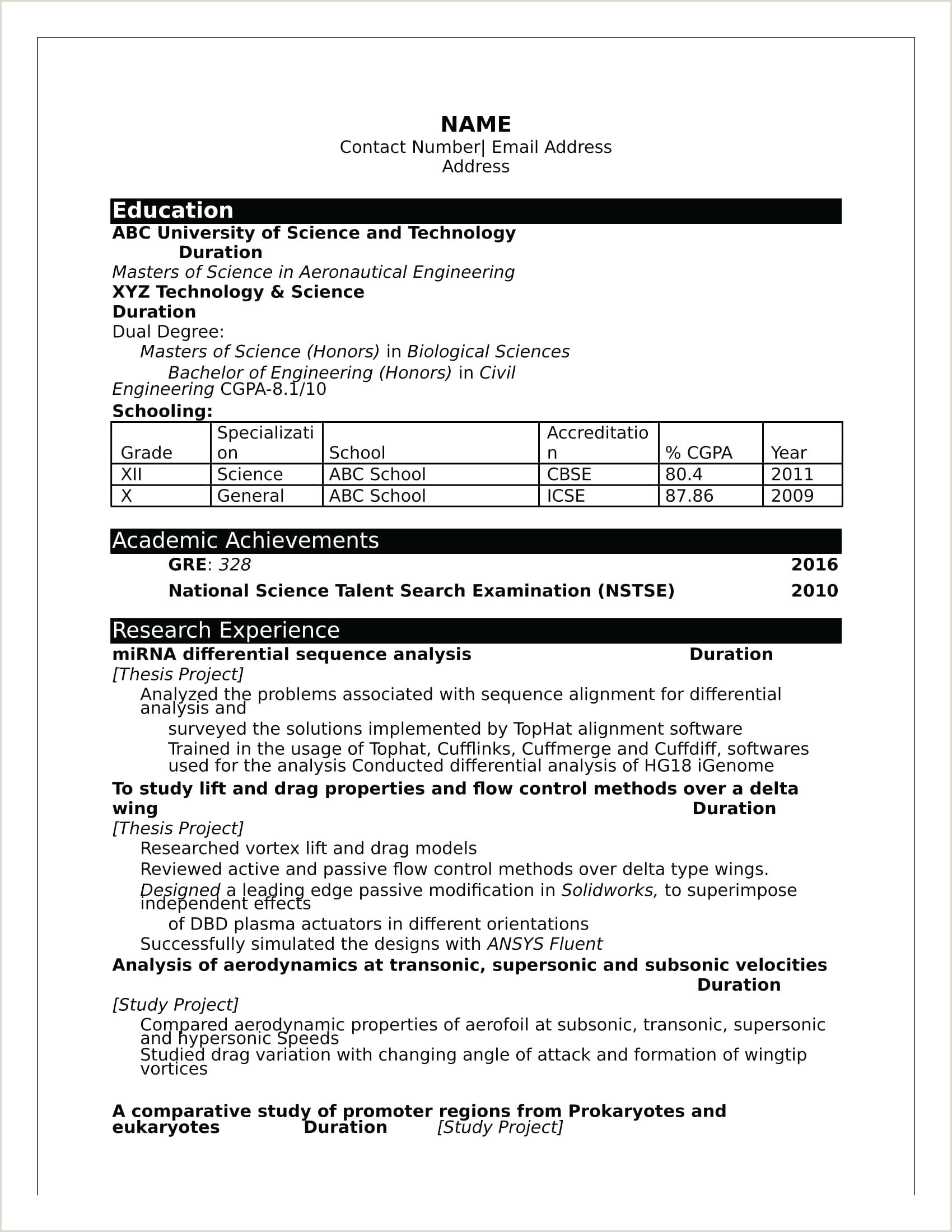 Cv format for Fresher Civil Engineer Resume Resume Templates for Freshers Download Free Word