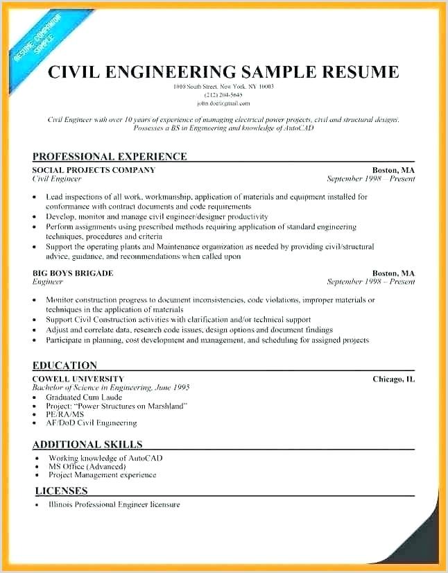 Cv format for Fresher Civil Engineer Structural Designer Sample Resume – Podarki