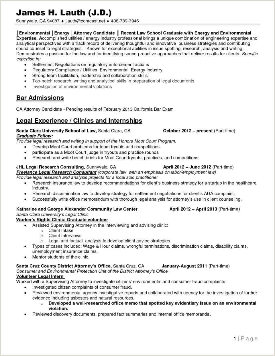 Cv format for Fresher Lawyer Resume Examples by Real People Student Pre Law Kickresume