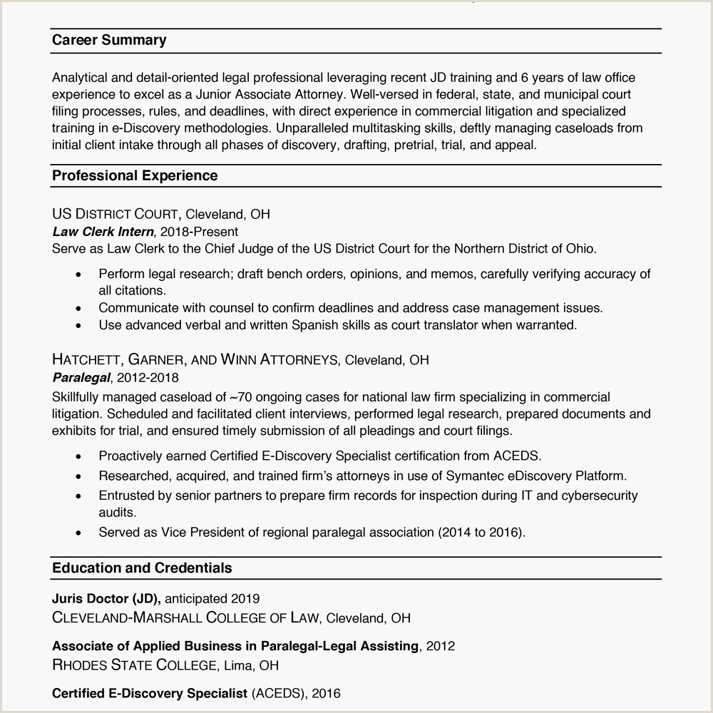 Cv format for Fresher Lawyer Resume formats—with Examples and formatting Tips