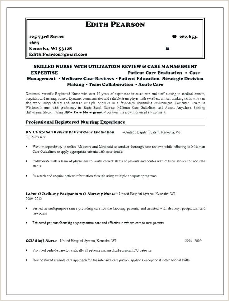 Cv Format For Fresher Nurses Nursery Nurse Cv Template – Dancarlyle