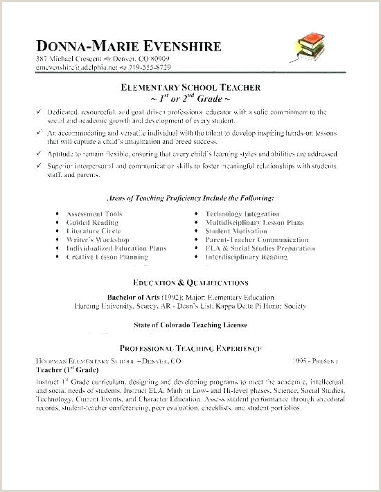 Cv Format For Fresher School Teacher Word Resume With Green Details Education Template Download