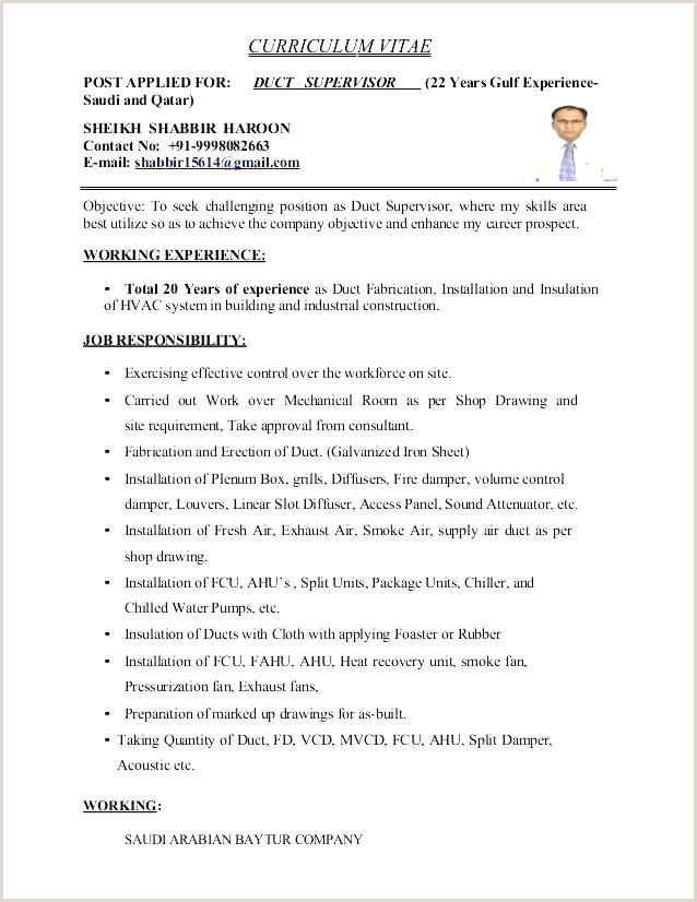 Cv Format For Gulf Job Draftsman Resume Sample – Growthnotes