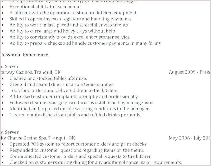 Cv format for Housekeeping Job Cleaning Skills Resume Sample – Newskeyfo