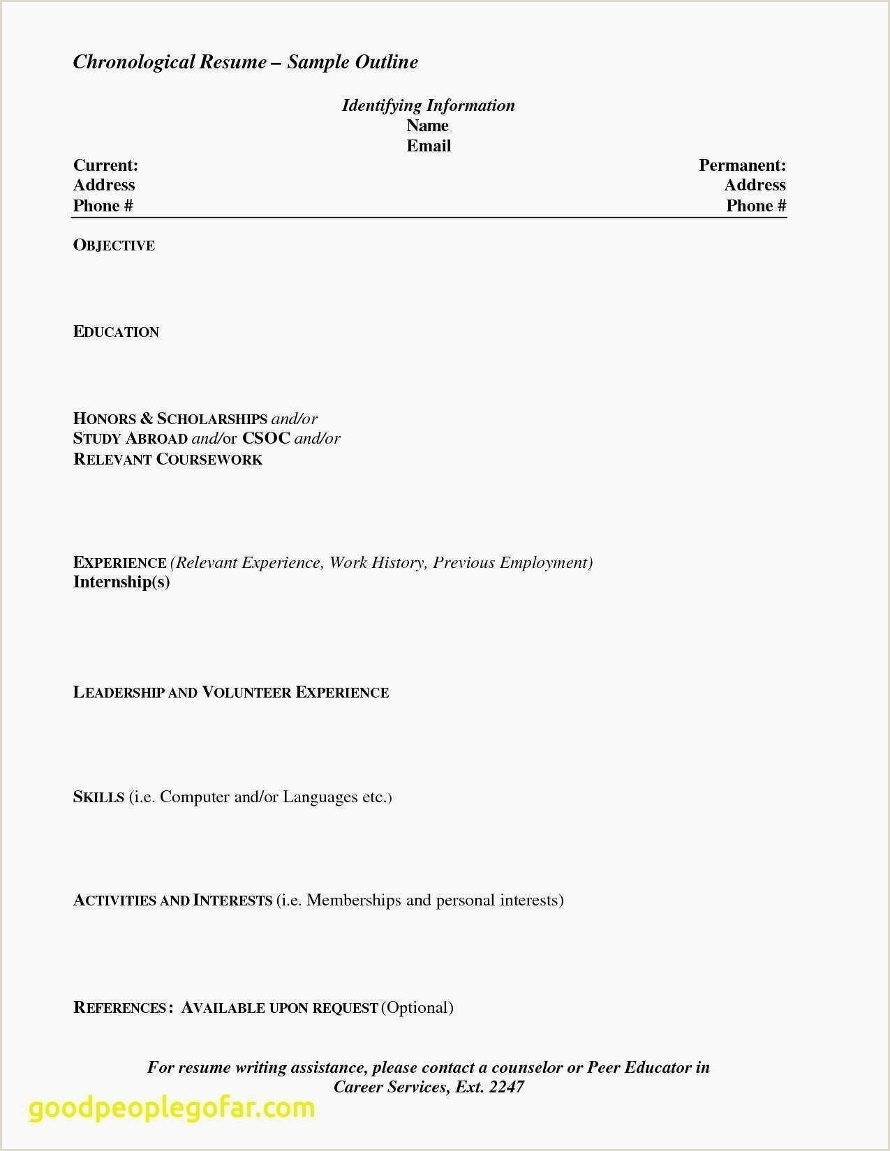 Cv format for Job Bd by Congress Sample Cv for Job Application In