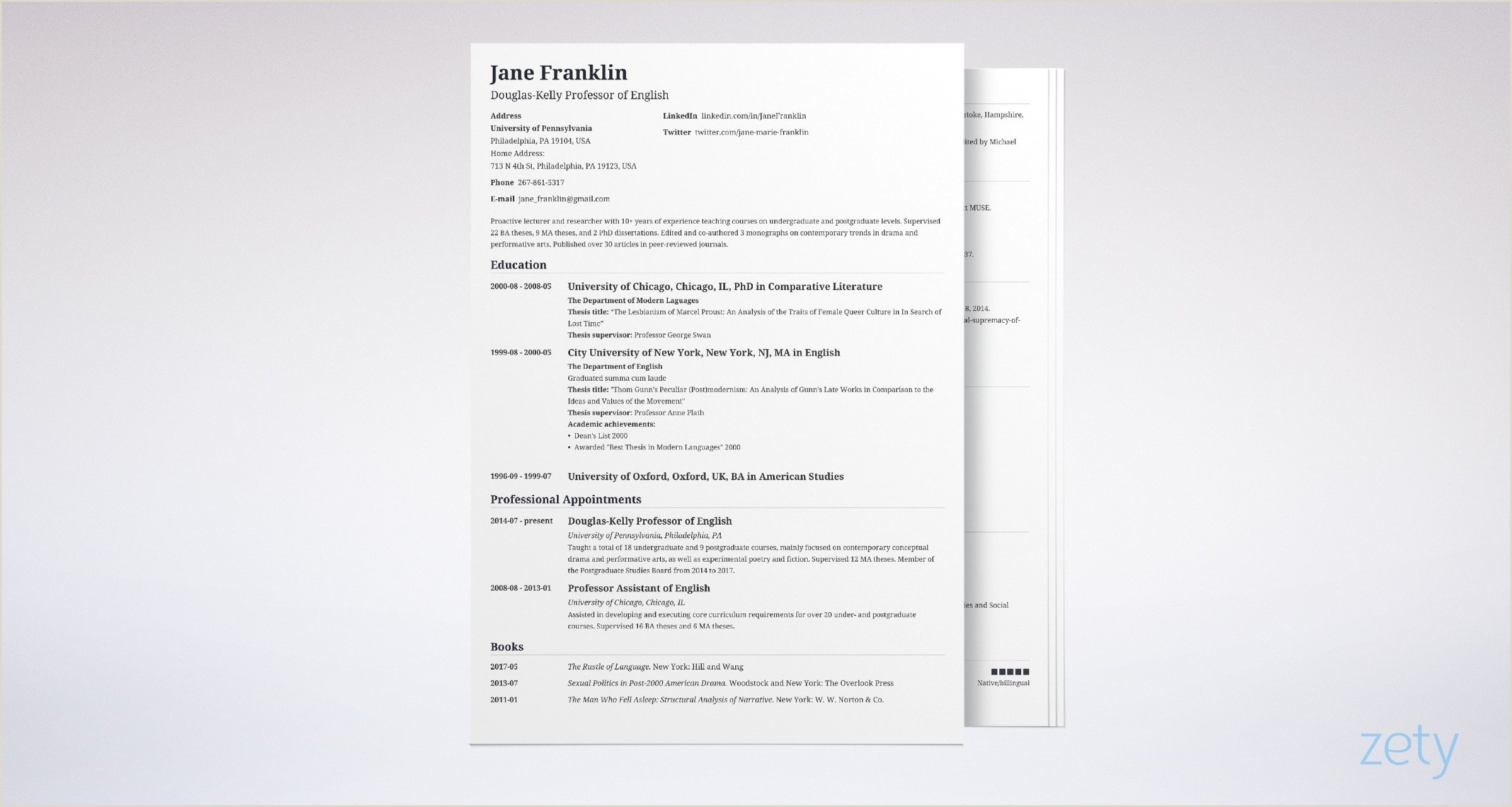 Cv format for Job Bd Cv Vs Resume Difference Definitions & when to Use which