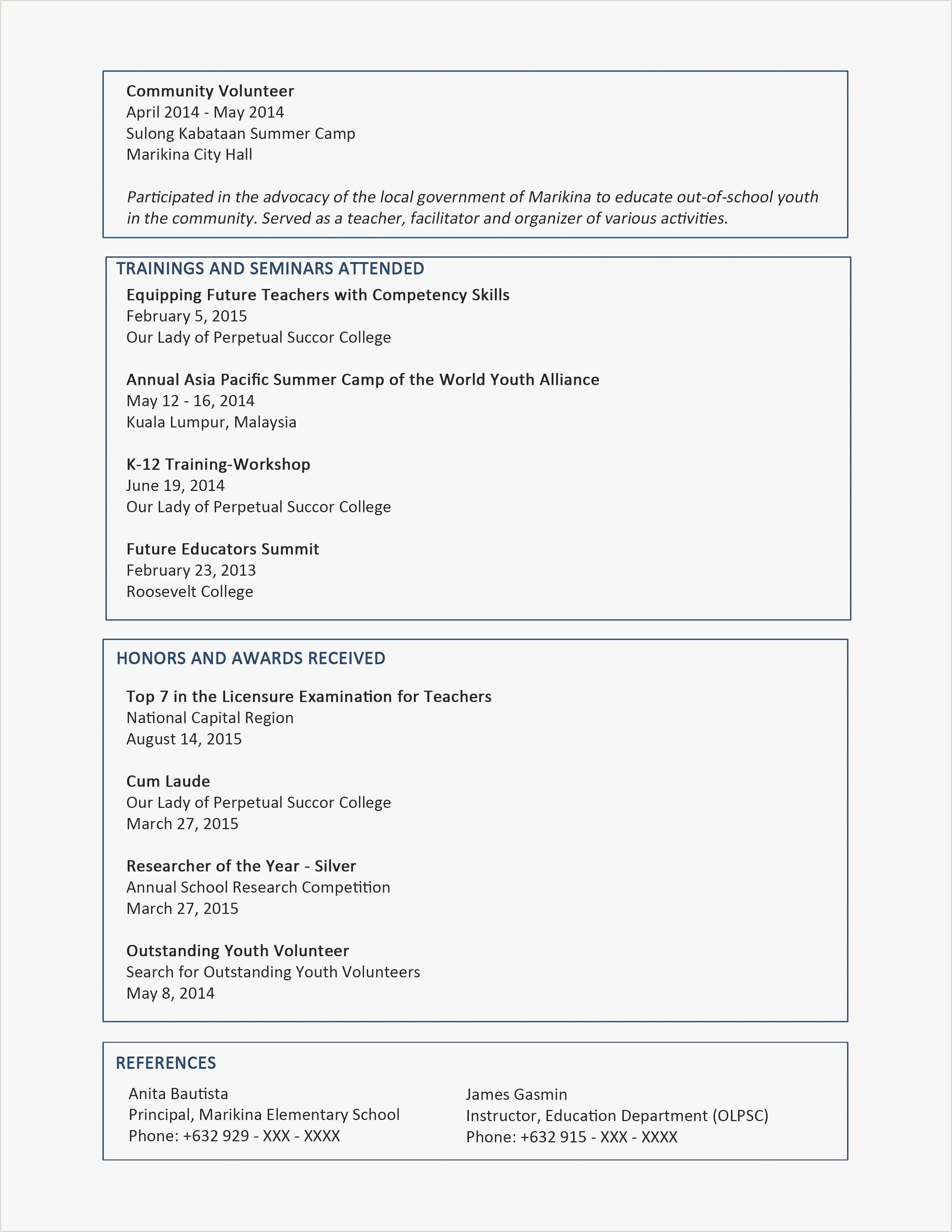 Cv format for Job Doc 25 New Resume format Doc