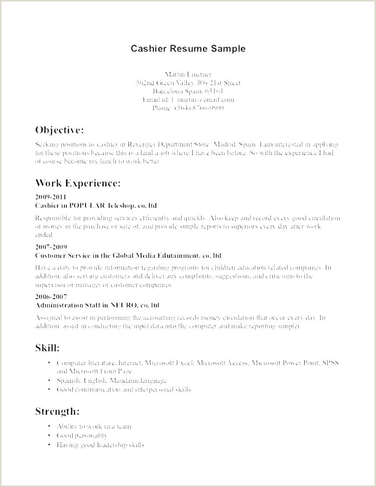 Cv format for Job Download Tefl Cv Template