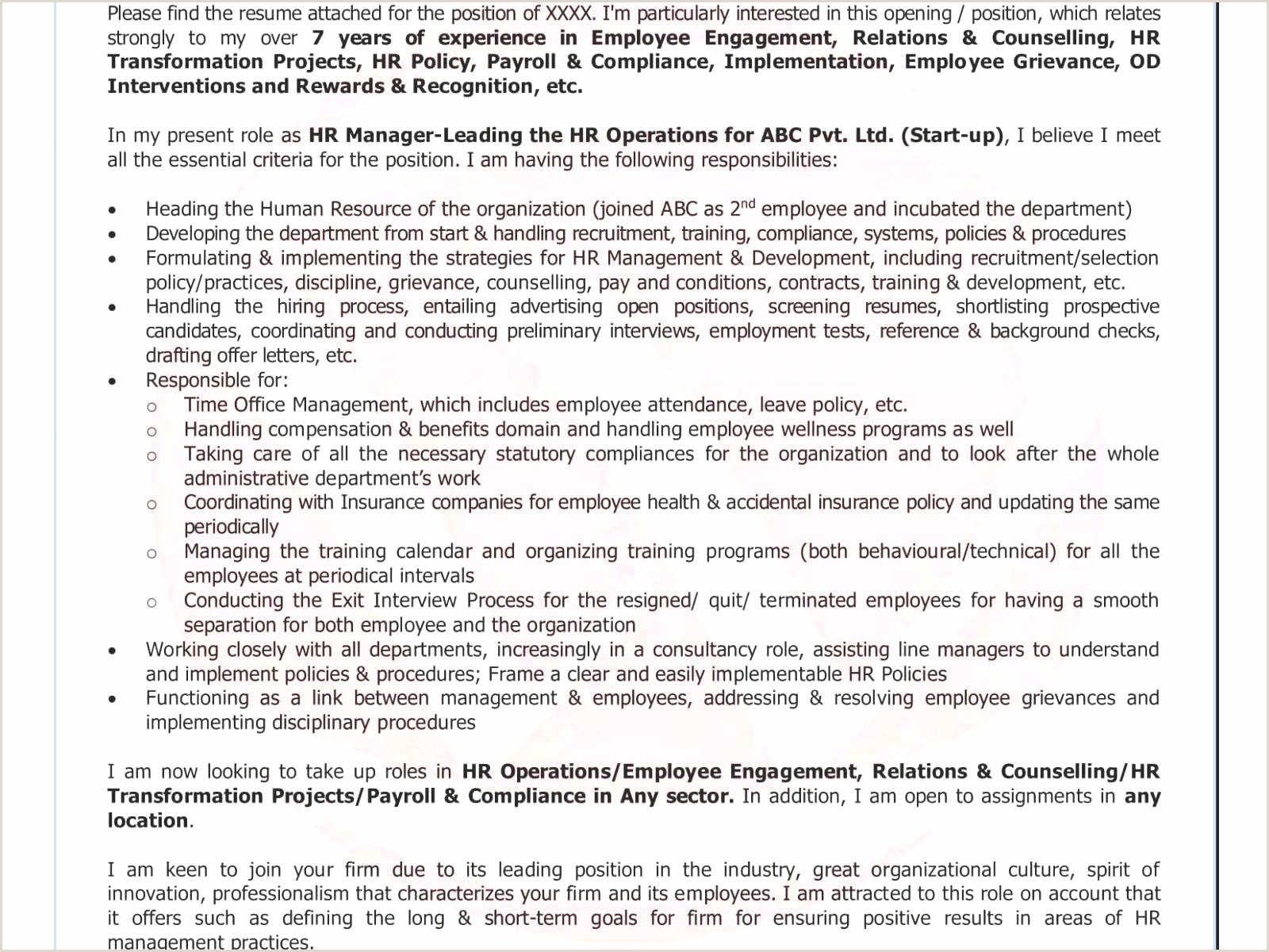 Cv Format For Job Example Cv Format Paysage Collections De Sample Resume Doc Format