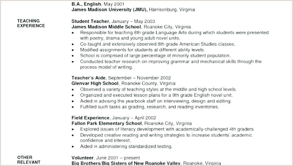 Cv Format For Job For Freshers Resume Template For Teaching Job Position Best Sample Cv