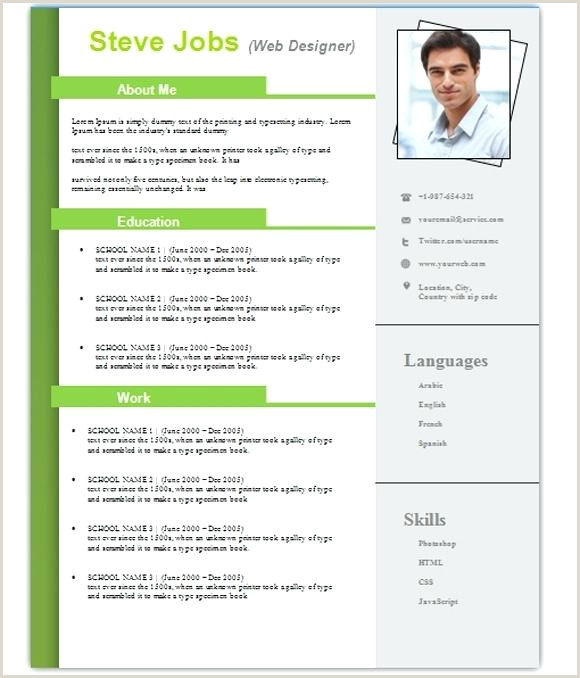 Cv format for Job In Bangladesh Pdf Download Templates Free Download Word Document Professional Template
