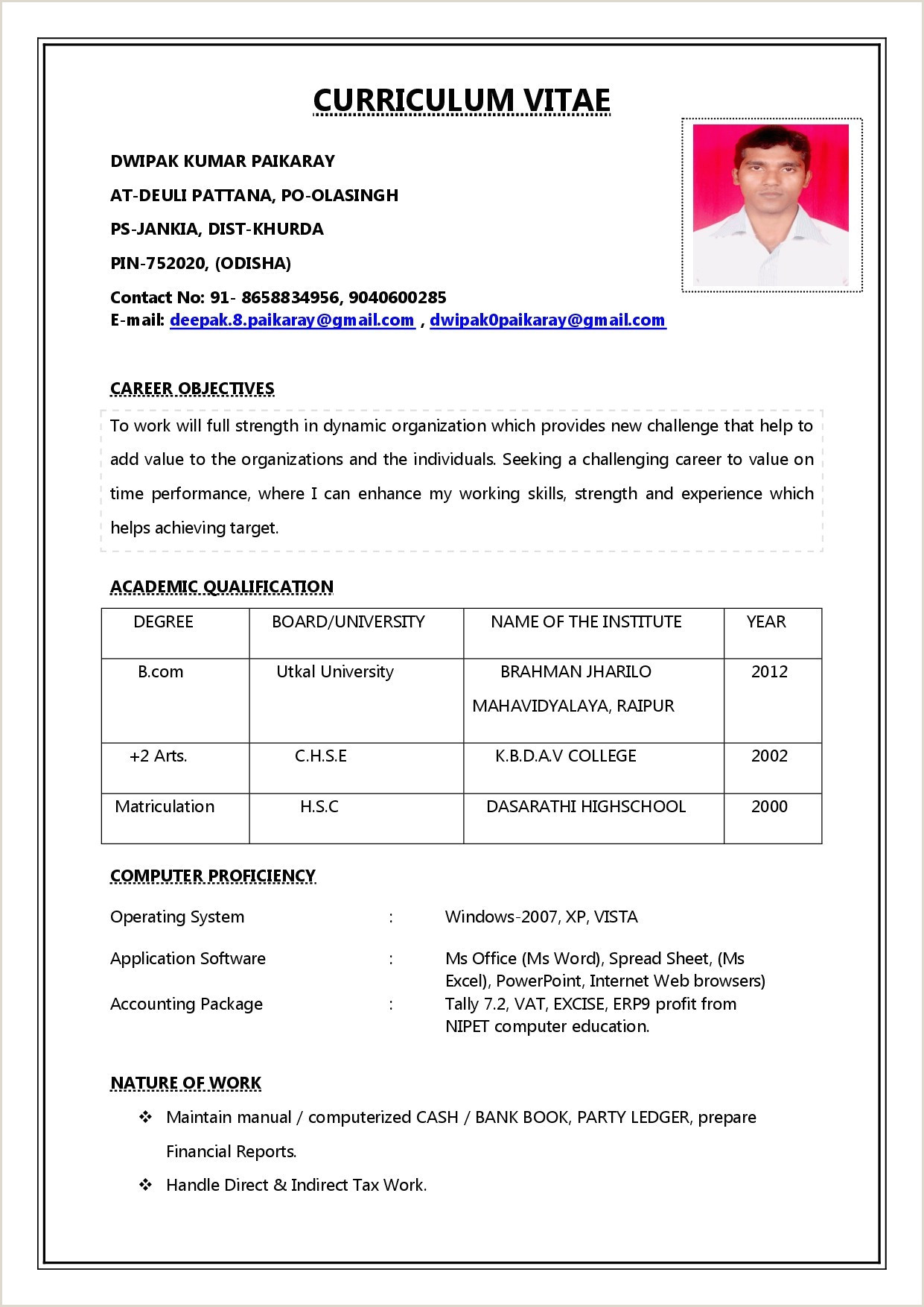 Cv format for Job In Bank Bank Teller Sample Resume Examples Resume for Bank Teller
