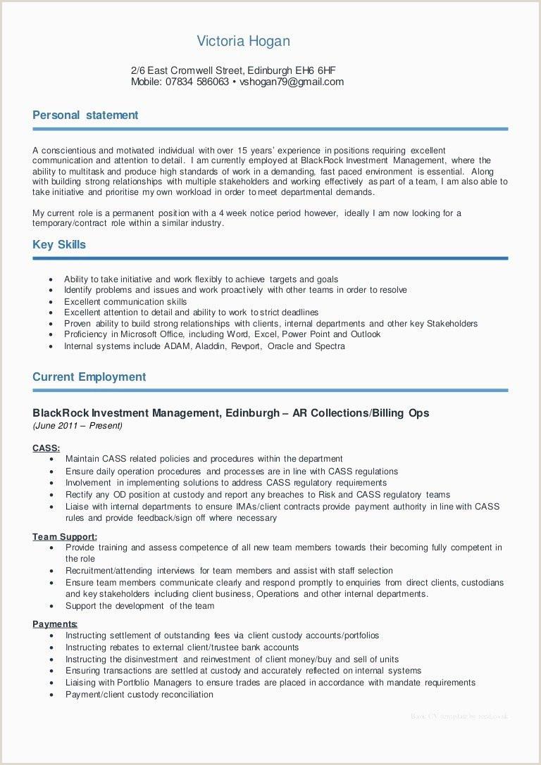 Cv Format For Job In Bank Bank Telleronsibilities For Resume New Sample Teller