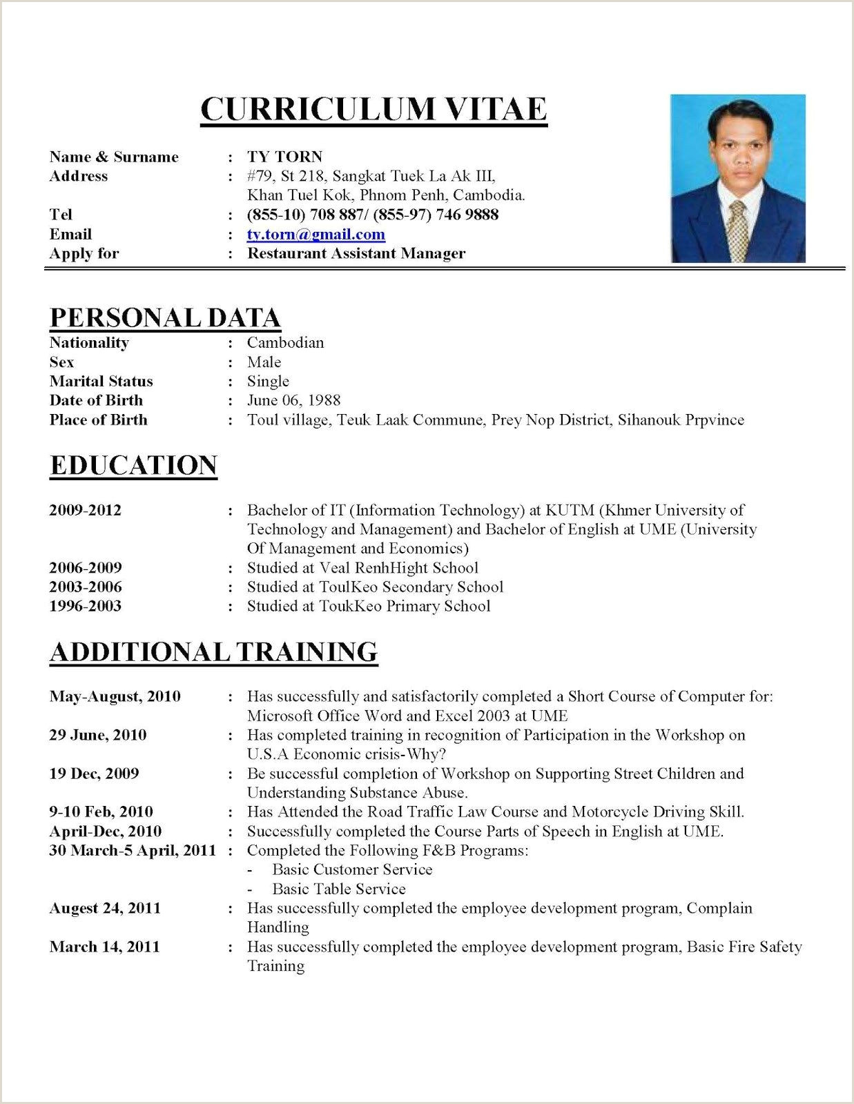 Cv Format For Job In Dubai Professional Cv Format For Dubai Tips On How To Write A