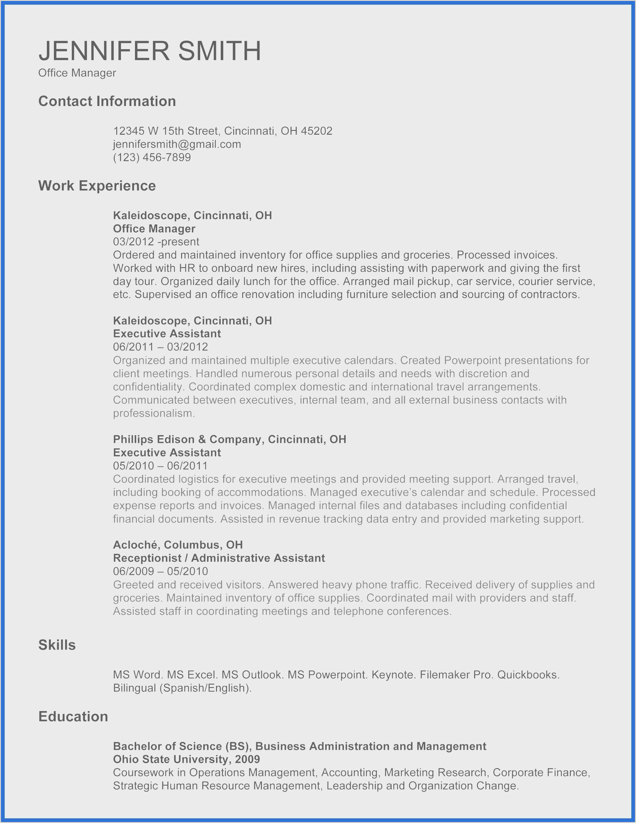 Cv Format For Job In Excel Free Information Technology Powerpoint Presentation