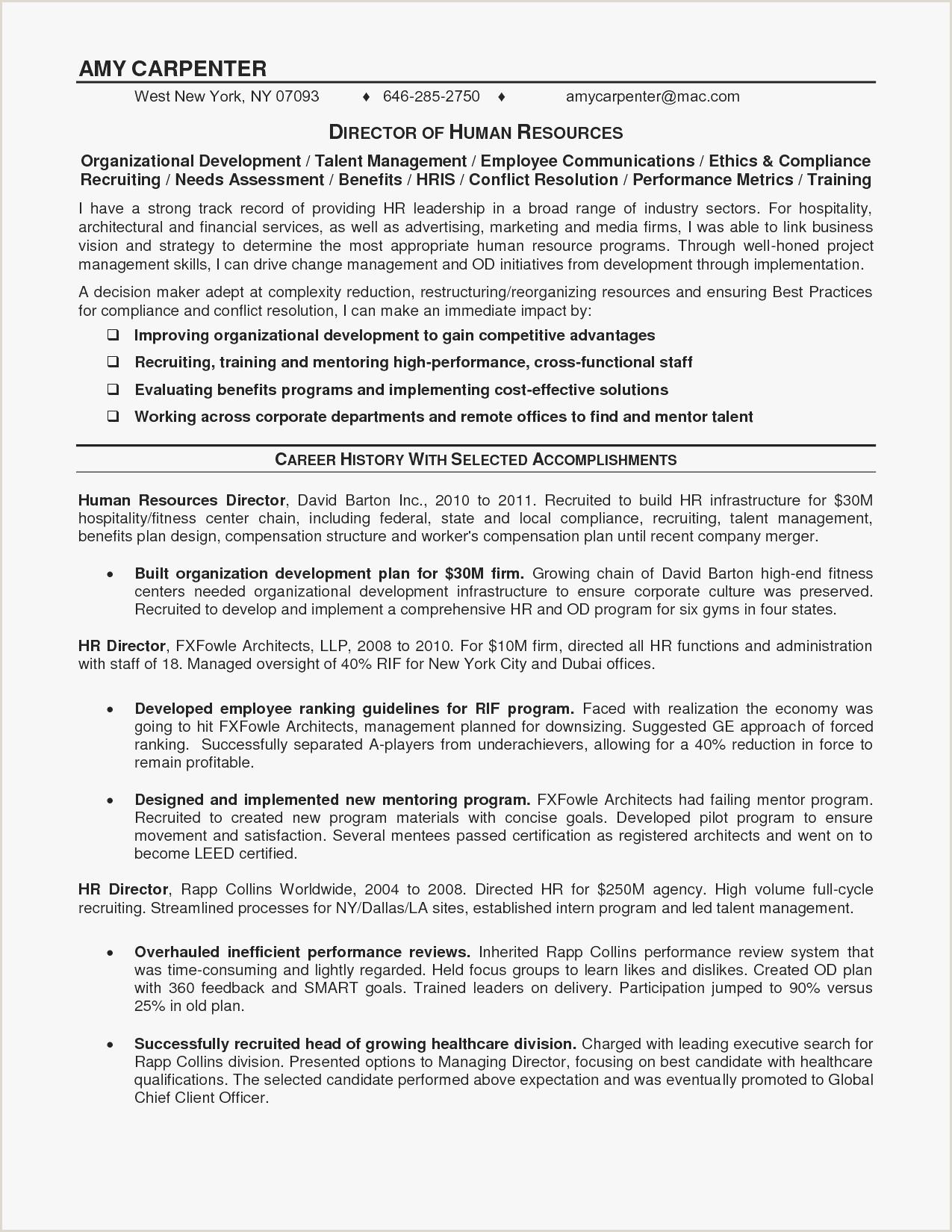 Sample Resume For Hotel And Restaurant Management Ojt New