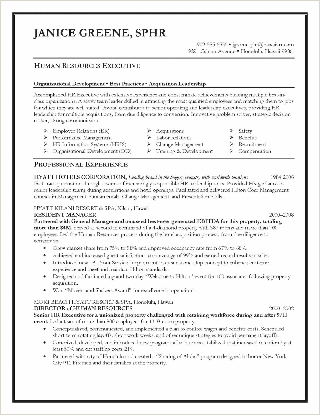 Cv Format For Job In India Cv Format Paysage élégant Cosmetic Resume Examples