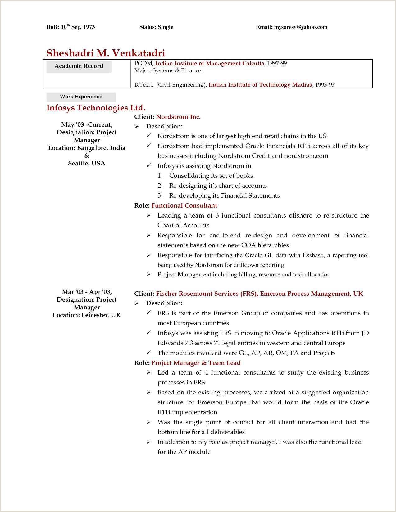 Cv Format For Job In India Resume Template Freeoard Member Sampleuilder My Format And
