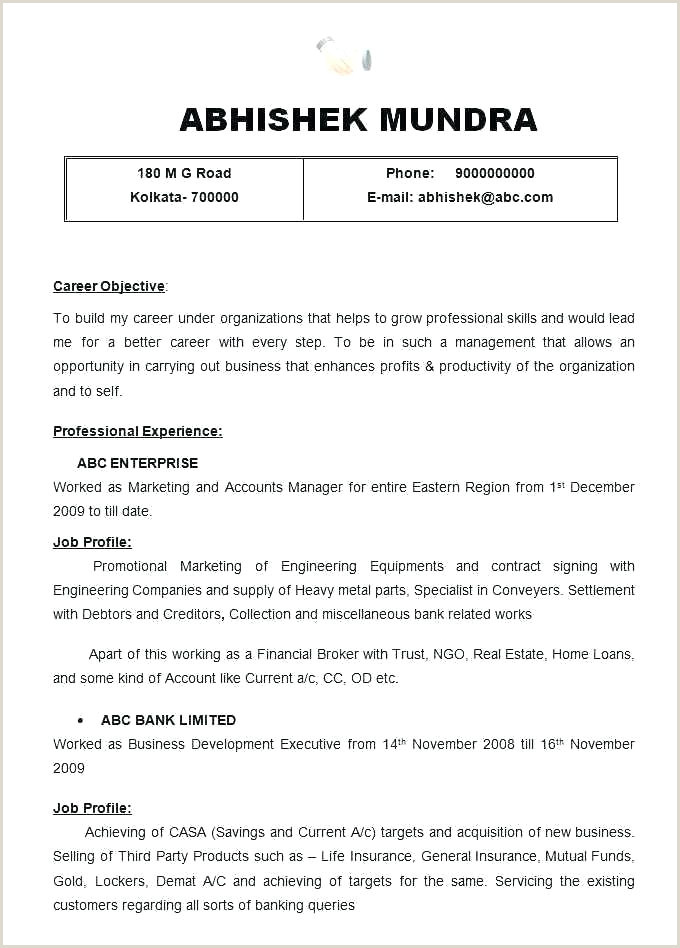 Cv format for Job In Ms Word Download Free Cv Template Microsoft Word 2007 – Chanceinc