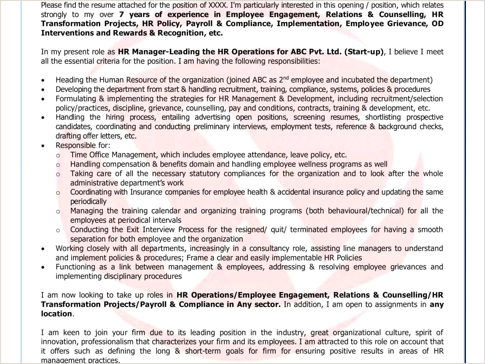 Cv format for Job In Ms Word Resume Sample format for Fresh Graduate Valid Graduate