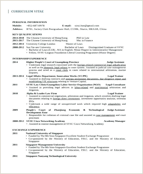 Cv format for Job In Pakistan Cv Template Doc Law Graduate Example Legal Sample Templates