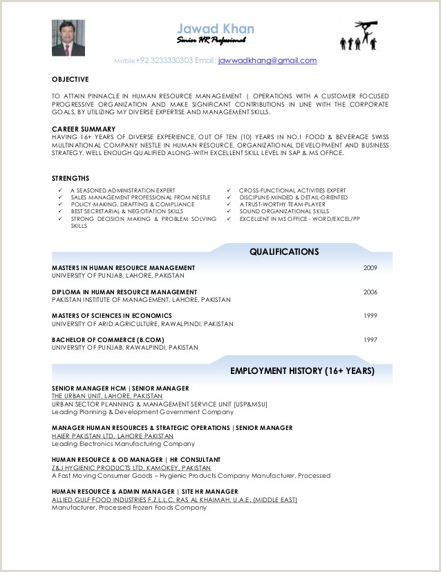 Cv format for Job In Pakistan Jawad Khan Cv Pakistan