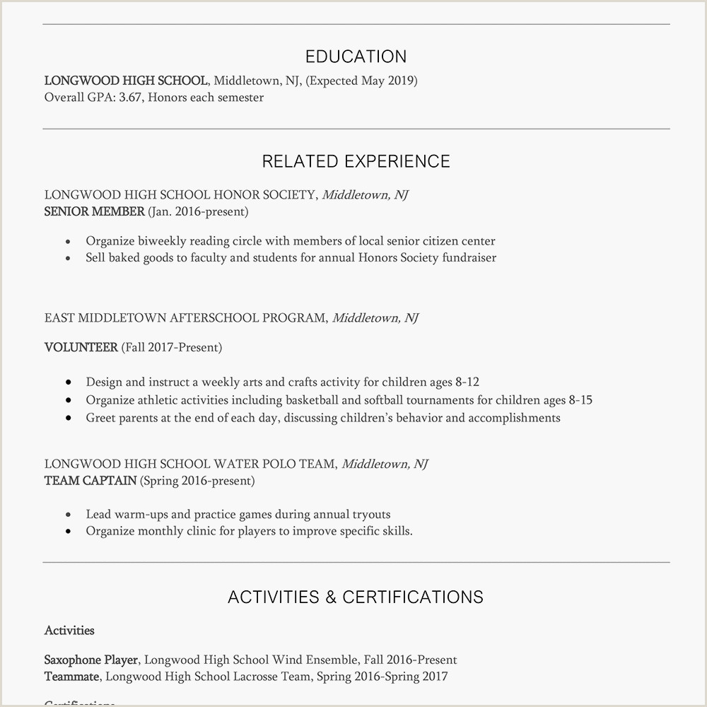 Cv format for Job In Pakistan Lifeguard Resume and Cover Letter Samples