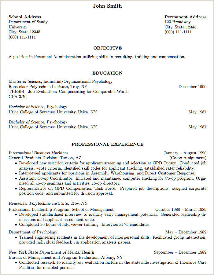 Cv format for Job Of Teacher How to Write An Application Letter for A Teaching Job In A